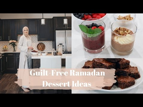 Healthy Ramadan Dessert Ideas! SO GOOD!