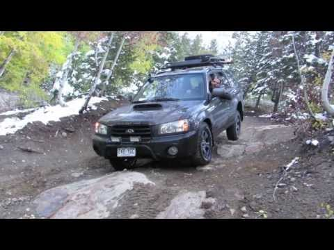 Poughkeepsie Gulch Trail - Subaru Forester Off Road (видео)