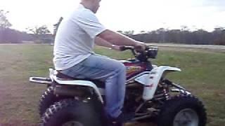 5. Yamaha Blaster Test Run and Wheelie