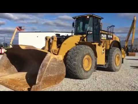CATERPILLAR WHEEL LOADERS/INTEGRATED TOOLCARRIERS 980K equipment video gw2fJqDqsOY