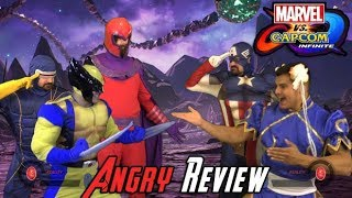 Video Marvel vs Capcom: Infinite Angry Review MP3, 3GP, MP4, WEBM, AVI, FLV Juni 2018