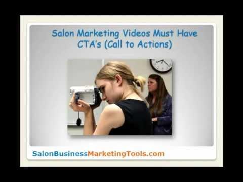 Beauty Salon Marketing Ideas:  Video Marketing Checklist