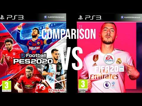 FIFA 20 Vs PES 20 PS3