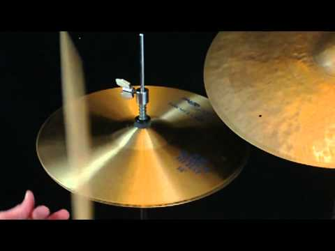 SOLD Vintage 1982 Paiste 602 Blue Label 14″ Hi Hats