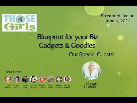 Gadgets & Goodies For Your Online Business – Blueprint for your Biz: Build your Brand Online