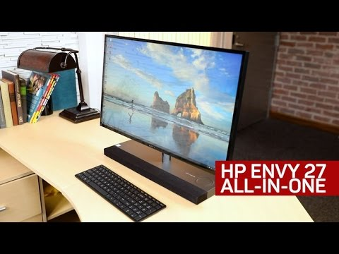 HP's Envy 27 AIO is a sleek Windows system