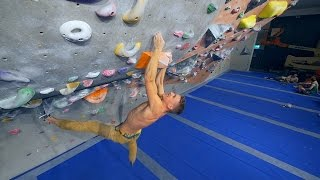 85 Tries, Desperation And Anger! Hannes Continue's Too Fight! by Eric Karlsson Bouldering