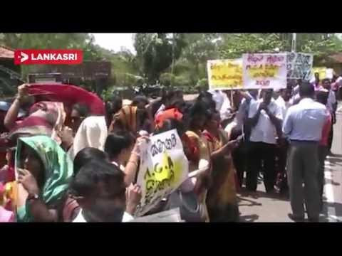 Ruhunu-University-Protest