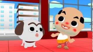 ちっちゃいおっさん アニメ エピソード9 「犬の美容室」の巻
