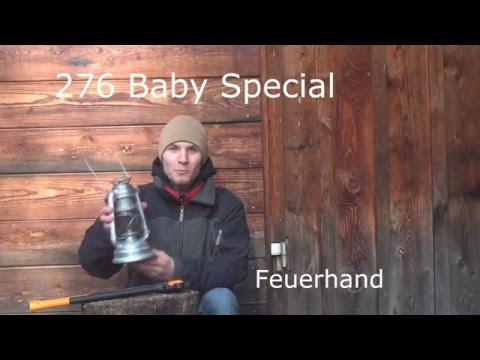 Petroleumlampe - 276 Baby Special by Feuerhand