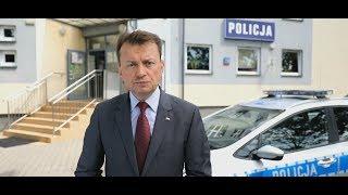 BŁASZCZAK ZAPOWIADA KOLEJNE PODWYŻKI DLA POLICJANTÓW