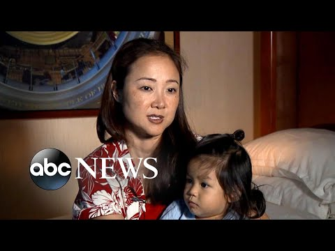 United Airlines gives away toddler
