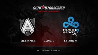 Alliance vs Cloud9, game 2