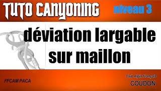 tutoriel de canyoning ( niveau 3 )
