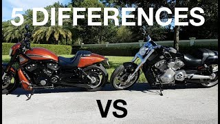 4. 5 Differences Harley Davidson V ROD Muscle vs Night ROD special 2017