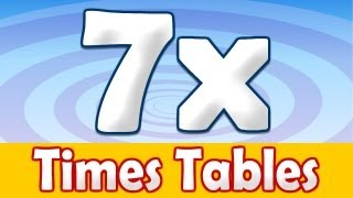 7 Times Table Song, Math Song
