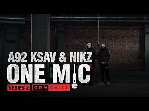#A92 🇮🇪 Ksav x Nikz – One Mic Freestyle | GRM Daily