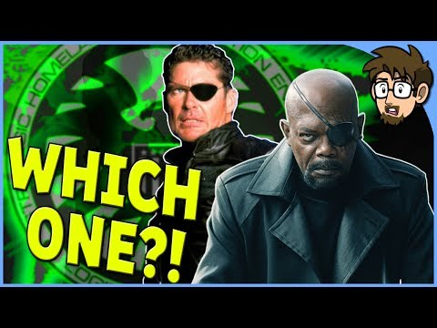 Is Nick Fury Black or White in the Comics?