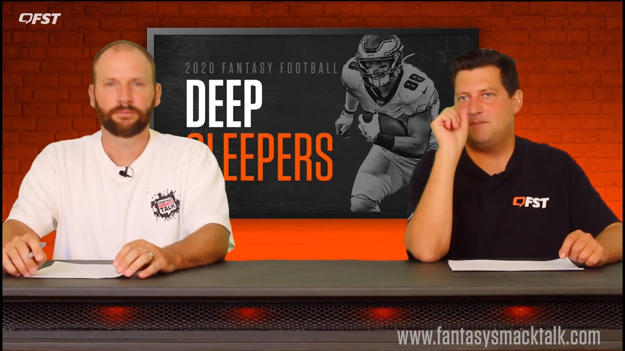 2020 Fantasy Football Deep Sleepers thumbnail