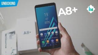 Samsung Galaxy A8+ (2018) - Unboxing en español