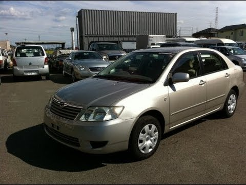2005 Toyota corolla NZE121 sold to Kenya