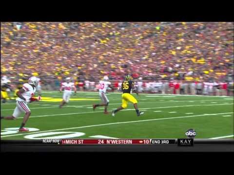 2011 Michigan football highlights v. Ohio (HD)