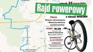 Rajd rowerowy z okazji WIOSNY