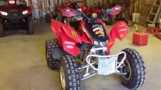 3. 2007 honda 300ex walk around