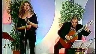 'El dia que me quieras' (Gardel-Le Pera), Tele Gold. Alla chitarra il M° Fabio Fasano