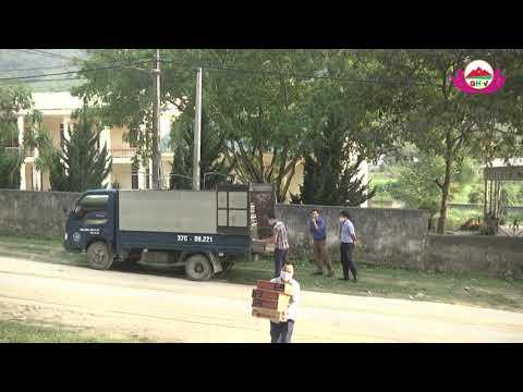 Trao 450 thùng mì tôm, 1.000 tờ rơi cho các hộ nghèo 5 xã vùng ĐBKK