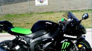 4. 2009 Kawasaki Ninja ZX6R Monster Energy Special Edition 600 Supersport