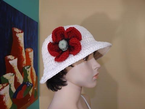 Crochet Sombrero de sol