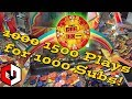 1500 Rapidfire Plays  Wizard Of Oz Coin Pusher Arcade 1000 Subscriber Video  Ticket Jackpot
