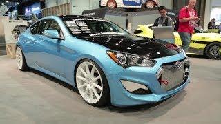 2013 Hyundai Genesis Coupe 1000 HP By Bisimoto - 2013 SEMA Show