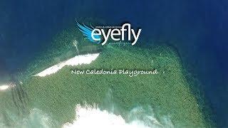 Bienvenue dans notre paradis..... Un magnifique terrain de jeux pour tous les sports de glisse mis en image par EyeFly Pacifique.