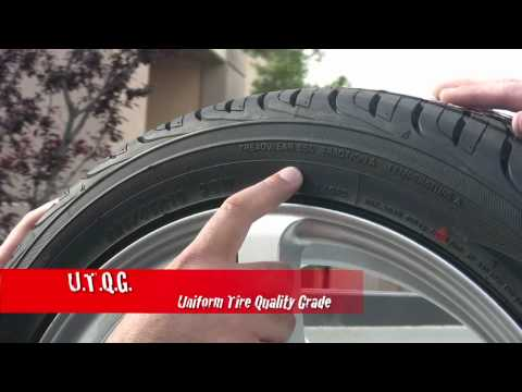 Yokohama Tire Tips #2 - How to Read a Tire Sidewall