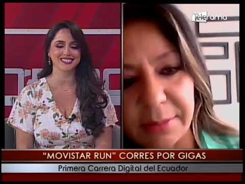 Movistar Run corres por gigas primera carrera digital del Ecuador