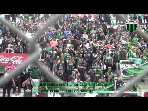 """La Fiesta completa de los hinchas en la """"Quema"""" - Nueva Chicago 0 - Lanus 3 - Los Pibes de Chicago - Nueva Chicago"""