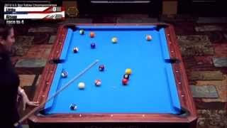 2012 CSI U.S. Bar Table Championships 8 Ball Division Women's Final: Allsup Vs Little
