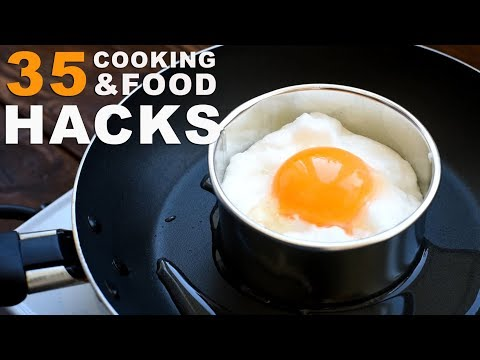 35 AMAZING COOKING TRICKS EVERYONE MUST KNOW