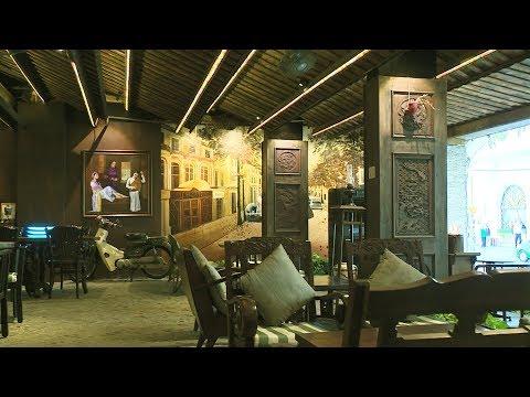Sống lại không khí Sài Gòn những năm 70 qua quán cà phê phong cách retro. @ vcloz.com