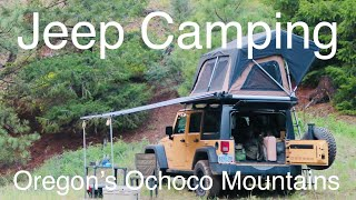 Video Jeep Car Camping Overland Style - Oregon's Ochoco Mountains - Keeping it Simple MP3, 3GP, MP4, WEBM, AVI, FLV Maret 2019