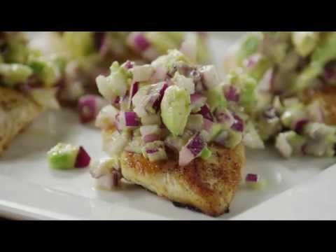 Chicken Recipes – How to Make Spicy Avocado Chicken