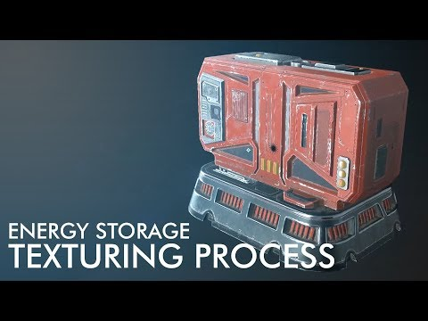 Devblog 9 – Pantropy energy storage texturing