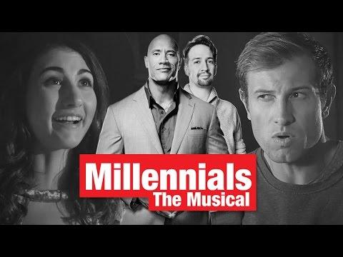 lin manuel miranda and dwayne johnson present millennials the musical