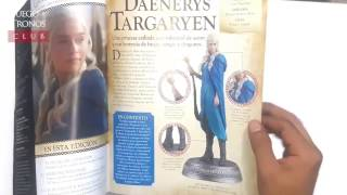 "Unboxing & review de las dos primeras figuras de la Colección ""Game of Thrones"" persentada por el diario El Comercio: Daenerys Targaryen y Jon Snow. Hechas por Eaglemoss (Inglaterra)****************************************************Suscríbete y mantente al tanto de todas las noticias y de contenidos divertidos sobre Juego de Tronos. Suscríbete también  a nuestras redes:http://facebook.com/JuegodeTronosClubhttp://twitter.com/JuegoTronosClubhttp://instagram.com/JuegoTronosCluby visita nuestra web: http://juegodetronos.clubCopyright Disclaimer Under Section 107 of the Copyright Act 1976, allowance is made for ""fair use"" for purposes such as criticism, comment, news reporting, teaching, scholarship, and research. Fair use is a use permitted by copyright statute that might otherwise be infringing. Non-profit, educational or personal use tips the balance in favor of fair use."