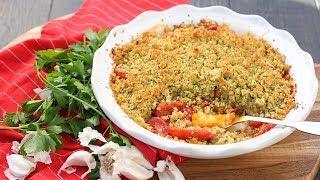 Tomato Gratin Recipe by Laura in the Kitchen