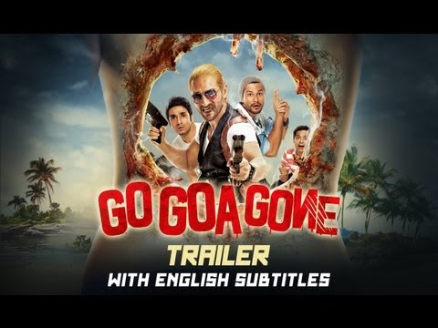Go Goa Gone – Theatrical Trailer with English Subtitles (Exclusive)