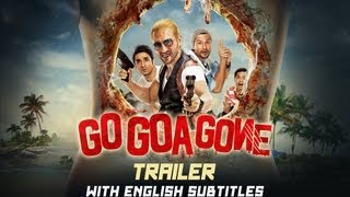 Go Goa Gone - Theatrical Trailer with English Subtitles (Exclusive)
