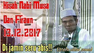 Video Seru!! Kisah nabi musa dan fir`aun | Ustadz abdul somad MP3, 3GP, MP4, WEBM, AVI, FLV September 2018
